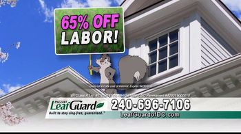 LeafGuard of DC Spring Blowout Sale TV Spot, 'Messy Spring Chore' - Thumbnail 4