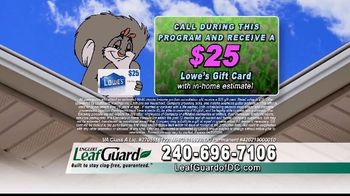 LeafGuard of DC Spring Blowout Sale TV Spot, 'Messy Spring Chore' - Thumbnail 7