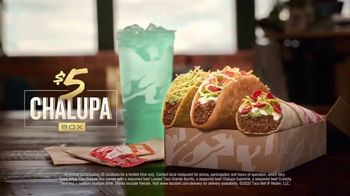 Taco Bell $5 Chalupa Box TV Spot, 'Boxed In' - Thumbnail 9