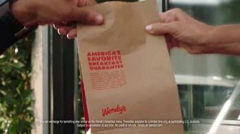 Wendy's Breakfast TV Spot, 'Don't Know it Yet: Free Delivery' - Thumbnail 7