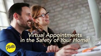 Pella TV Spot, 'Virtual Appointment Option'