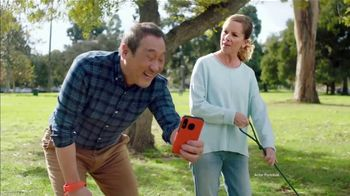 Consumer Cellular TV Spot, 'Dog Park: Talk, Text, Data $20+ a Month'