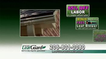 LeafGuard Seattle Spring Blowout Sale TV Spot, 'Messy Spring Chore' - Thumbnail 6