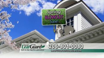 LeafGuard Seattle Spring Blowout Sale TV Spot, 'Messy Spring Chore' - Thumbnail 2