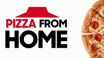 Pizza Hut TV Spot, 'Pizza From Home: We're Open'