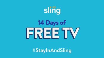 Sling TV Spot, 'Staying Safe Means Staying at Home'