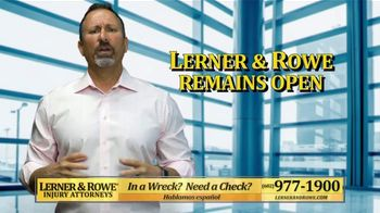 Lerner and Rowe Injury Attorneys TV Spot, 'COVID-19: Confusing Times'