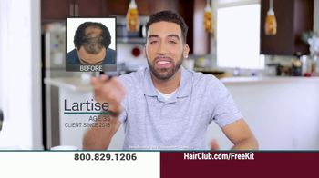Hair Club TV Spot, 'The Hair Salon' - Thumbnail 3