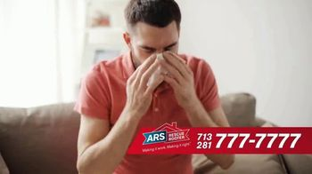 ARS Rescue Rooter TV Spot, 'Houston: Nothing to Sneeze At' - Thumbnail 4
