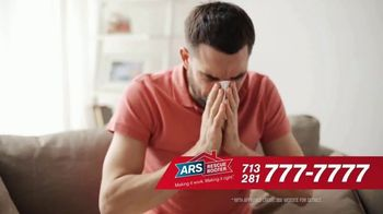 ARS Rescue Rooter TV Spot, 'Houston: Nothing to Sneeze At'