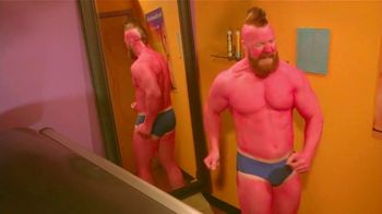 Snickers TV Spot, 'WWE Fan Favorite Commercials: Tanning Bed' Featuring Stephen Farrelly, Ric Flair - 1 commercial airings