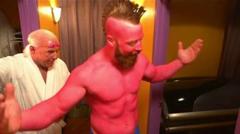Snickers TV Spot, 'WWE Fan Favorite Commercials: Tanning Bed' Featuring Stephen Farrelly, Ric Flair - Thumbnail 9