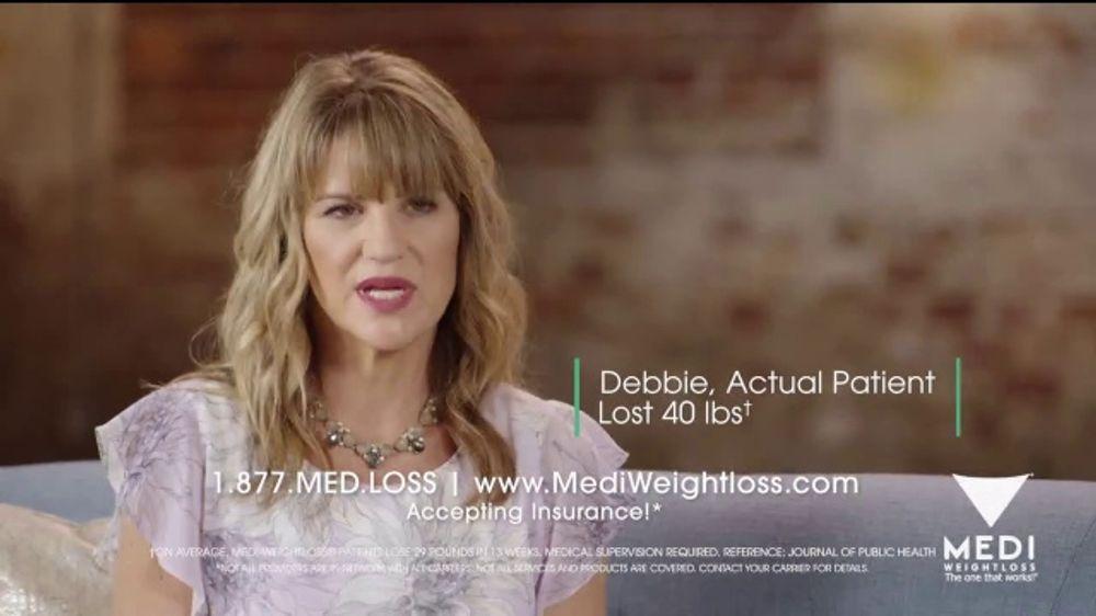 Medi-Weightloss TV Commercial, 'Debbie'