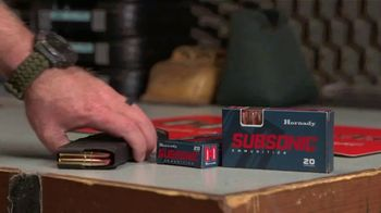 Hornady Subsonic Ammunition TV Spot, 'Truly Reliable' - Thumbnail 4