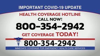 Health Coverage Hotline TV Spot, 'COVID-19 Alert' - Thumbnail 8