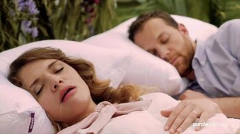 Purple Mattress Spring Sale TV Spot, 'Sleep Prescription: Free Sheets & Plush Pillow'