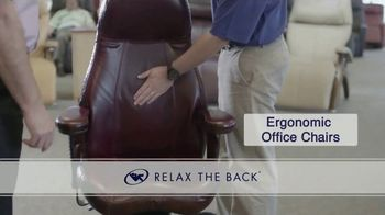 Relax the Back TV Spot, 'Ergonomic Office Chairs and Assesment' - Thumbnail 4