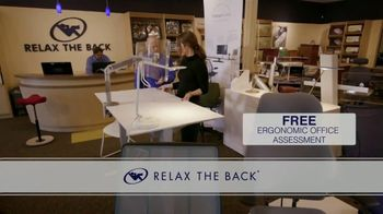 Relax the Back TV Spot, 'Ergonomic Office Chairs and Assesment' - Thumbnail 7