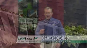 LeafGuard of North Georgia Spring Blowout Sale TV Spot, 'Clogged Open-Top Gutters' - Thumbnail 2