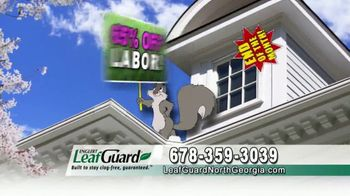 LeafGuard of North Georgia Spring Blowout Sale TV Spot, 'Clogged Open-Top Gutters' - Thumbnail 5