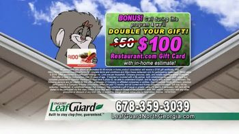 LeafGuard of North Georgia Spring Blowout Sale TV Spot, 'Clogged Open-Top Gutters' - Thumbnail 8