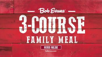 Bob Evans Restaurants 3-Course Family Meal TV Spot, 'Feed a Family of Four' - Thumbnail 1