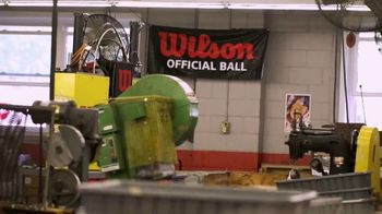 Wilson Football TV Spot, 'The Factory' - Thumbnail 8