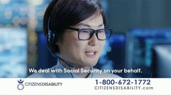 Citizens Disability Helpline TV Spot, Unable to Work'