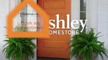 Ashley HomeStore Grand Reopening Mattress Event TV Spot, 'Zero Percent Interest: Tempur-Pedic' - Thumbnail 8
