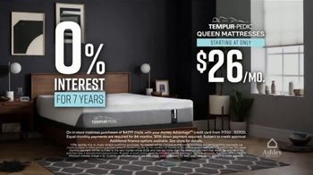 Ashley HomeStore Grand Reopening Mattress Event TV Spot, 'Zero Percent Interest: Tempur-Pedic' - Thumbnail 4