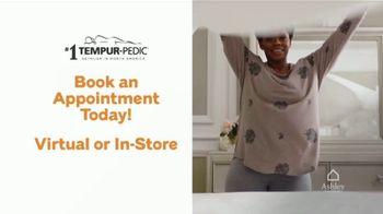 Ashley HomeStore Grand Reopening Mattress Event TV Spot, 'Zero Percent Interest: Tempur-Pedic' - Thumbnail 6