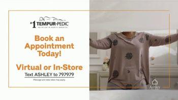 Ashley HomeStore Grand Reopening Mattress Event TV Spot, 'Zero Percent Interest: Tempur-Pedic' - Thumbnail 7