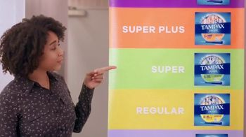 Tampax TV Spot, 'Time to Tampax: What's There To Learn About Tampon Sizes?' Featuring Amy Schumer - Thumbnail 6