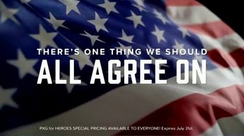 Parsons Xtreme Golf TV Spot, 'Happy Birthday USA: PXG for Heroes Special Pricing' ft. Pat Perez - Thumbnail 1