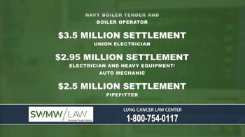 SWMW Law TV Spot, 'Lung Cancer Law Center' - Thumbnail 4