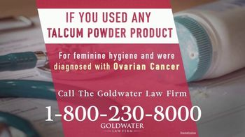 Goldwater Law Firm TV Spot, 'Talcum Powder Products: Ovarian Cancer' - Thumbnail 3