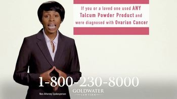 Goldwater Law Firm TV Spot, 'Talcum Powder Products: Ovarian Cancer' - Thumbnail 4