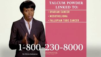 Goldwater Law Firm TV Spot, 'Talcum Powder Products: Ovarian Cancer' - Thumbnail 7