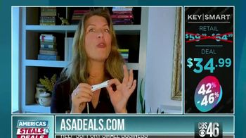 America's Steals & Deals TV Spot, 'KeySmart CleanKey' Featuring Genevieve Gorder - Thumbnail 10