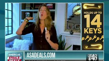 America's Steals & Deals TV Spot, 'KeySmart CleanKey' Featuring Genevieve Gorder - Thumbnail 8