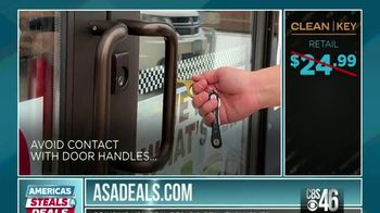 America's Steals & Deals TV Spot, 'KeySmart CleanKey' Featuring Genevieve Gorder