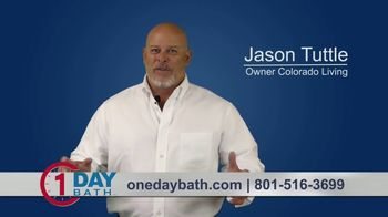 One Day Bath and Shower Remodeling Home Show Special TV Spot, 'Cooped Up'
