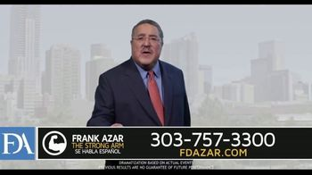 Franklin D. Azar & Associates, P.C. TV Spot, 'Injured on the Job' - Thumbnail 9