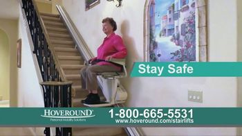 Hoveround Hoverglide TV Spot, 'Staying in Your Own Home'