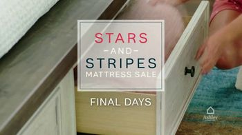Ashley HomeStore Stars and Stripes Mattress Sale TV Spot, 'Final Days: Tempur-Pedic' - Thumbnail 2
