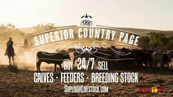 Superior Livestock Auction TV Spot, 'The Superior Country Page' - Thumbnail 1