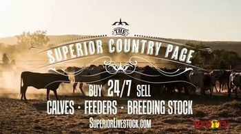 Superior Livestock Auction TV Spot, 'The Superior Country Page'
