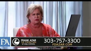 Franklin D. Azar & Associates, P.C. TV Spot, \'Hurt Back\'