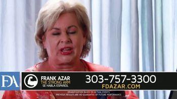 Franklin D. Azar & Associates, P.C. TV Spot, 'Hurt Back' - Thumbnail 8