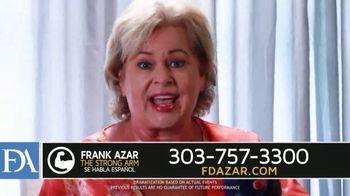 Franklin D. Azar & Associates, P.C. TV Spot, 'Hurt Back' - Thumbnail 9